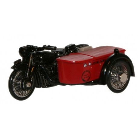 *BSA Motorcycle & Sidecar Royal Mail
