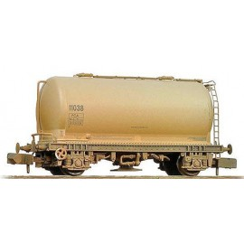 PCA Metalair Bulk Powder Wagon Grey - Weathered
