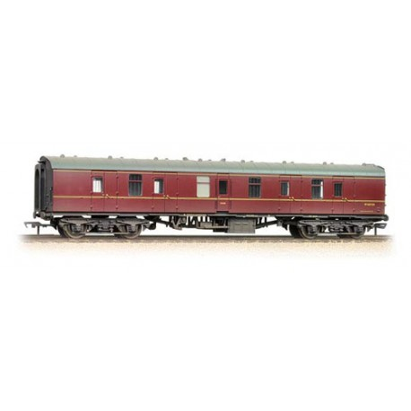 BR Mk1 BG Full Brake Maroon - Weathered