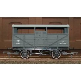 GWR Cattle Wagon 13818