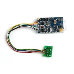 E-Z Command 0.7 Amp 3 Function 8 Pin DCC Decoder Back EMF