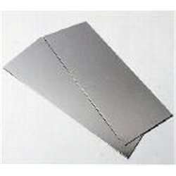 0.064 in. aluminium sheet metal (1.62 mm)