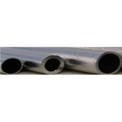 7/32 x 0.014 in. aluminium tube (5.55 x 0.35 mm)