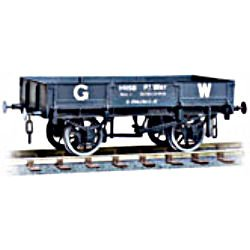 GWR 8 ton permanent way steel open wagon kit, with opening double side.
