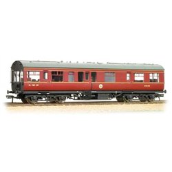 LMS 50ft Inspection Saloon LMS Lined Maroon