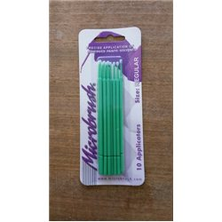 Microbrush - 10 x Regular – green