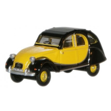 Citroen 2CV Charleston Yellow Black
