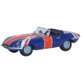 Jaguar E Type Union Jack (Austin Powers)