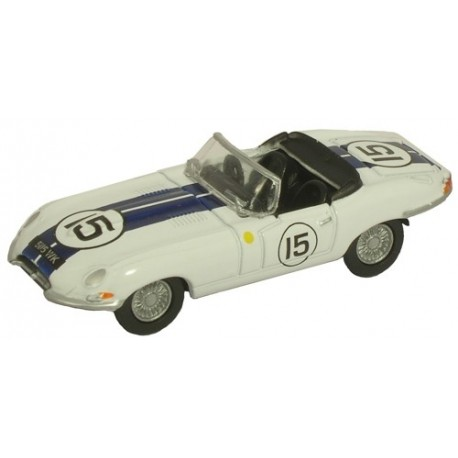 Jaguar E Type Open Top Le Mans 1963