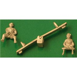 See-Saw with 2 Children
