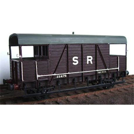 "SECR/SR ""Dancehall"" Brake Van"