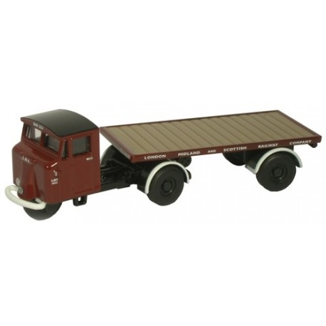 Mechanical Horse Flatbed Trailer LMS