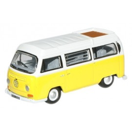 VW Camper Bay Window Closed Saturn Yellow/White