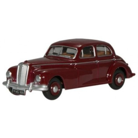Wolseley 6/80 Series Maroon