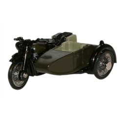 BSA Motorcycle Sidecar 34th Armoured Brigade 1945