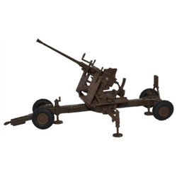 Brown 40MM Bofors Gun