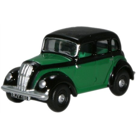 Morris Eight Saloon Green & Black