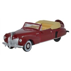 Lincoln Continental 1941 Maroon