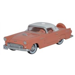 Ford Thunderbird 1956 Sunset Coral/Colonial White