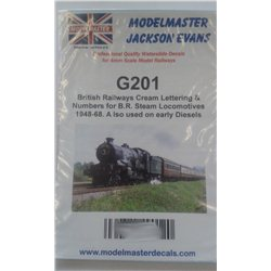 GENERAL PURPOSE NUMBERING SET. Lots of Numbers 0 - 9 plus BR for loco sides (three sizes)