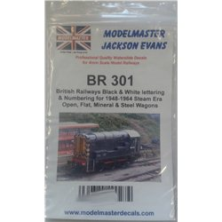 Large Comprehensive Sheet of B.R. 1948-1965 OPEN, HOPPER & FLAT WAGONS