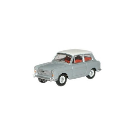 Austin A40 MkII Cumulus Grey/Snowberry White