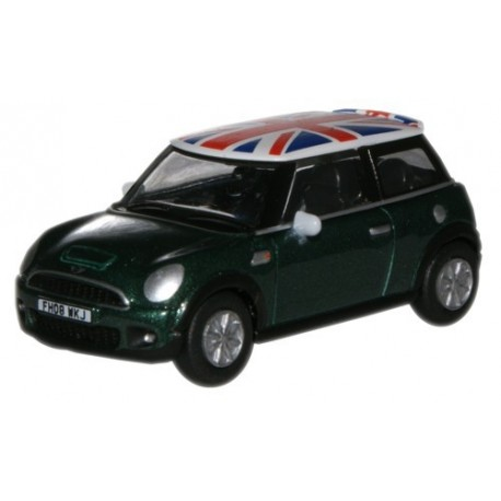 New Mini BRG Metallic/Union Jack