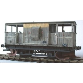 BR Plough Brake Van kit - SHARK