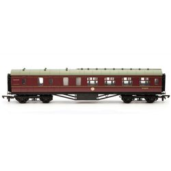 57ft Stanier BR maroon lined