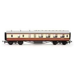 57 FT STANIER CORRIDOR BRAKE BR CARMINE & CReam