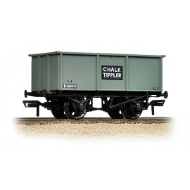 27 Ton Steel Tippler Wagon Grey Chalk