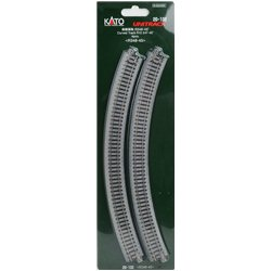Ground Level Radius 348mm Curved Track 45 Deg.(4)