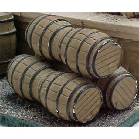 Stacked barrels (2)