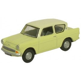Ford Anglia Sunburst Yellow/Cirrus White