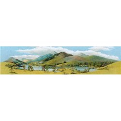 Large Mountain Lake Scenic Background 228mm x 737mm