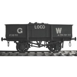 GWR 10t Loco Coal Wagon kit