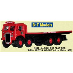 Albion CX7 Flatbed - BRS Argyll Group