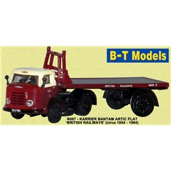 Karrier Bantam Artic flatbed British Rail