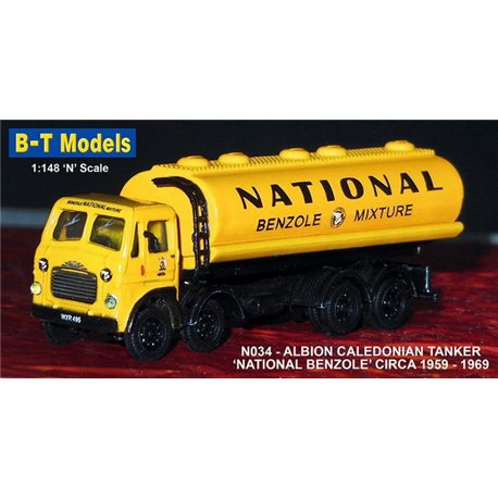 Albion Caledonian Tanker - National Benzole