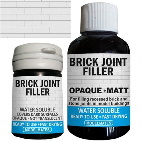 Opaque Brick Joint Filler liquid