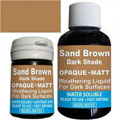 Opaque Weathering Wash - Sand Brown