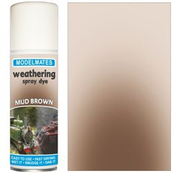 Spray weathering liquid- mud brown
