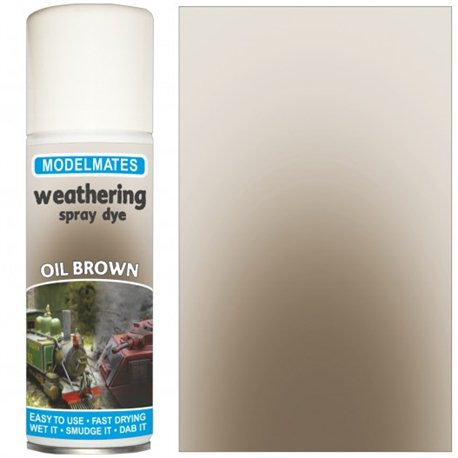 Spray weathering liquid- oil brown