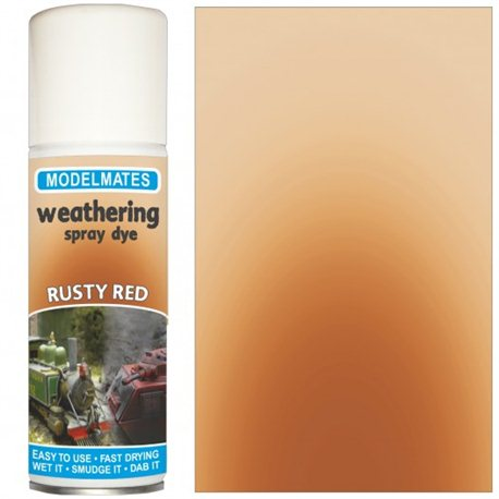 Spray weathering liquid- rusty red