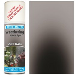 Spray weathering liquid- soot black