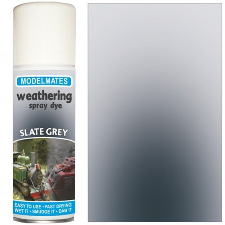 Spray weathering liquid- slate grey