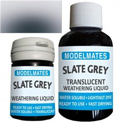 Weathering liquid - slate grey