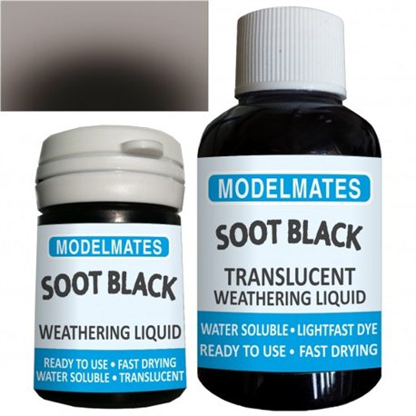 Weathering liquid - soot black