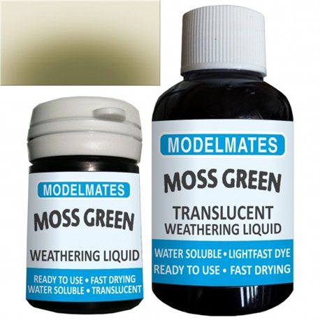Weathering liquid - moss green
