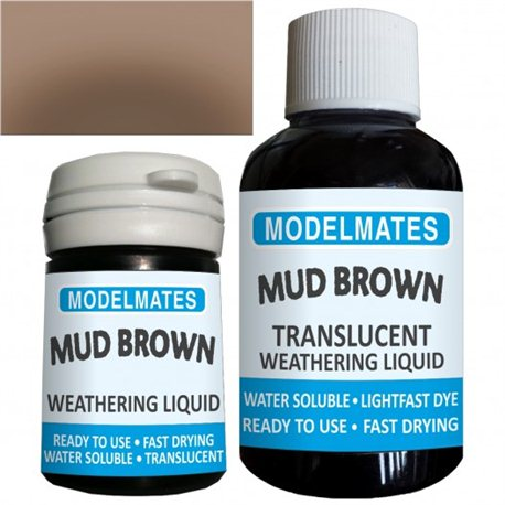 Weathering liquid - mud brown